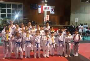 Torneo Regional de Taekwondo ATA – Chicureo 2017