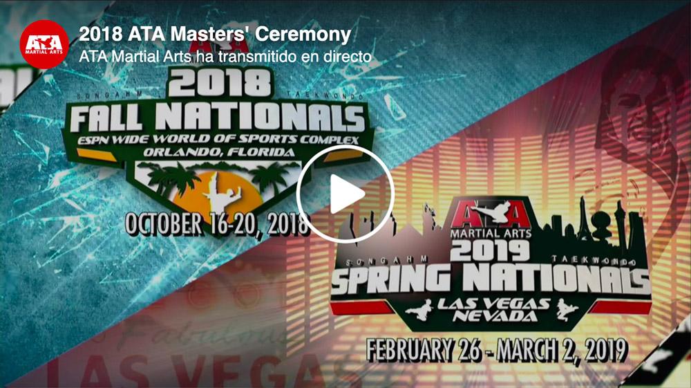 2018 ATA Masters' Ceremony